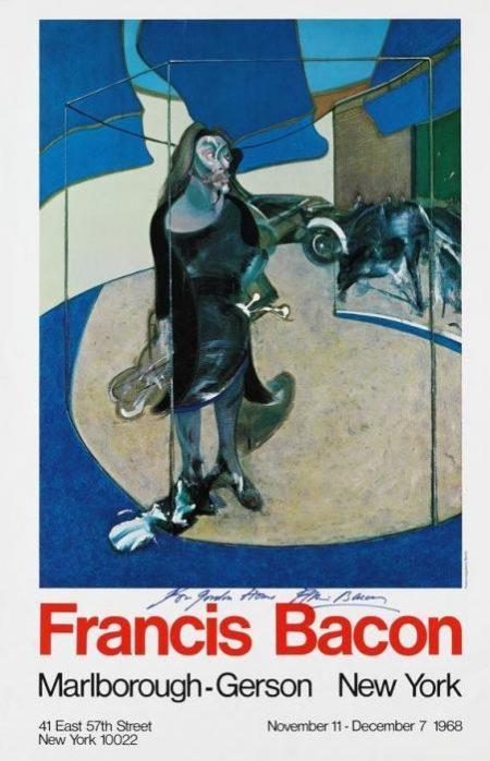 Francis Bacon-Isabel Rawsthorne, in einer Strasse in Soho stehend-1968