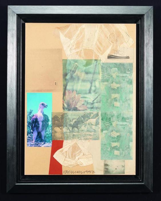 Robert Rauschenberg-Robert Rauschenberg - Sans titre (Untitled)-1975