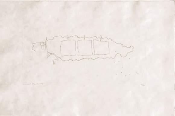 Marcel Duchamp-The Top Inscription (1st state)-1965