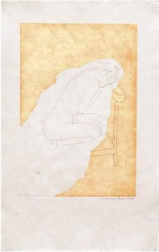 Marcel Duchamp-(i) La Mariee Mise A Nu (1st state); (ii) Etiquette : The Lovers, December 1967, March 1968-1968