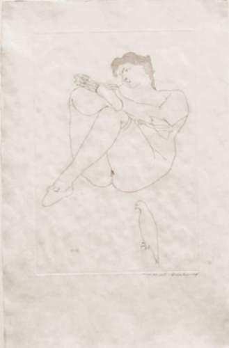 Marcel Duchamp-Morceaux choisis d'apres Courbet (1st state)-1968