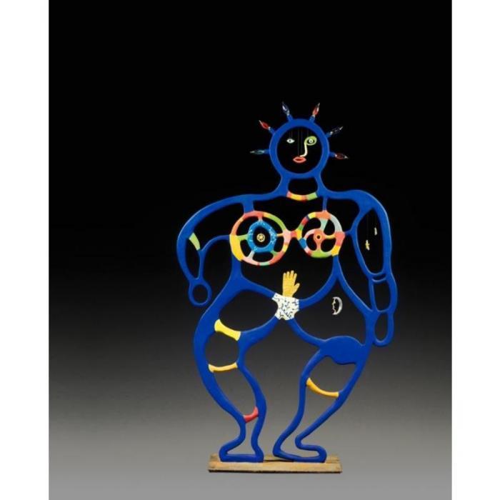 Niki de Saint Phalle-Femme bleue (luminaire)-1985