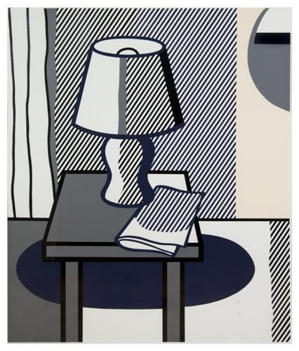 Roy Lichtenstein-The Poetry Project Symposium (Still Life with Table Lamp)-