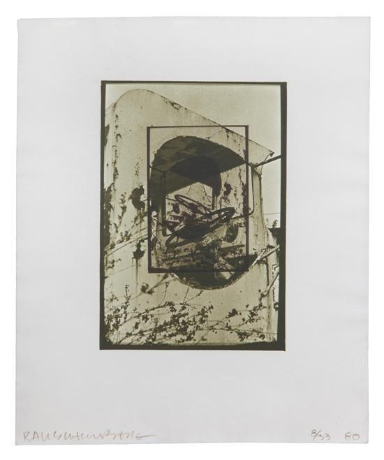 Robert Rauschenberg-Robert Rauschenberg - White Pendulum-1980