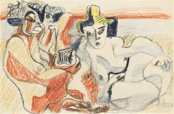 Le Corbusier-Three Nudes-