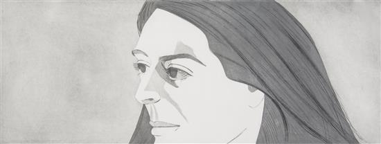 Alex Katz-Large Head of Ada-1973
