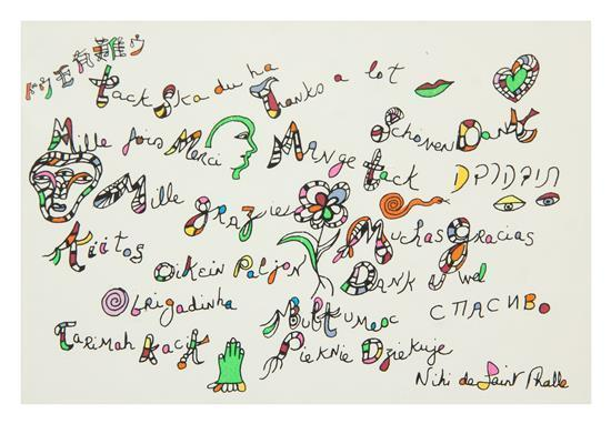 Niki de Saint Phalle-Thanks a Lot-