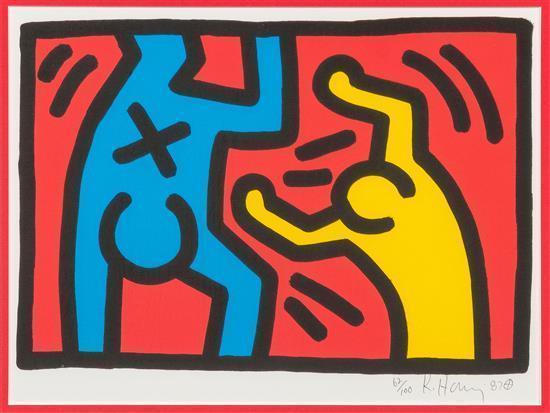 Keith Haring-Keith Haring - Untitled-1987