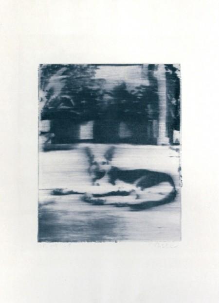 Gerhard Richter-Hund (Dog)-1965
