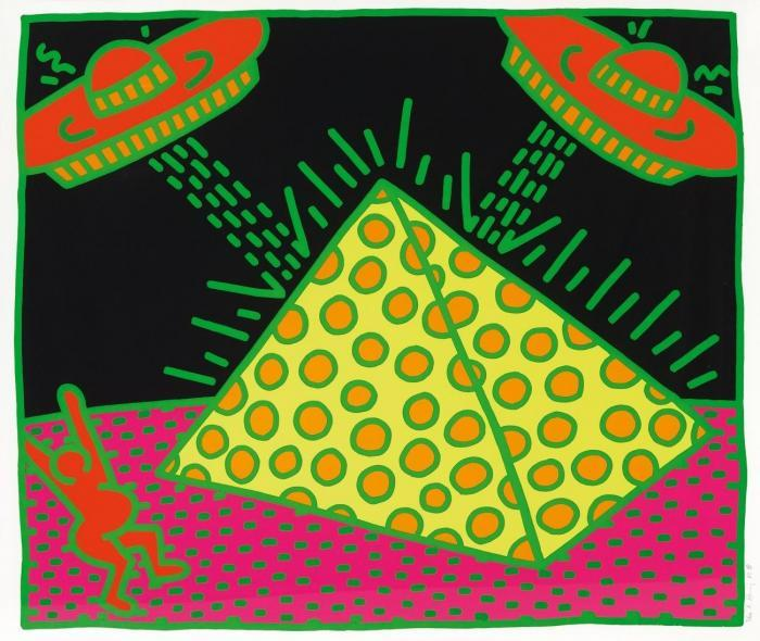 Keith Haring-Keith Haring - Aus: The Fertility Suite-1983