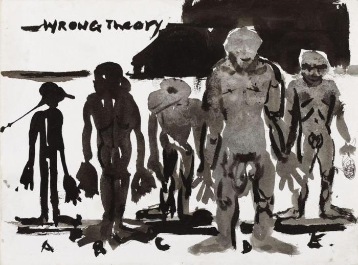 Marlene Dumas-Wrong Theory-1989