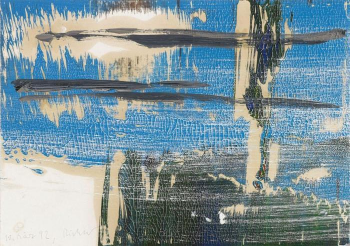 Gerhard Richter-Ohne Titel (10.3.92) / Untitled (10.3.92)-1992