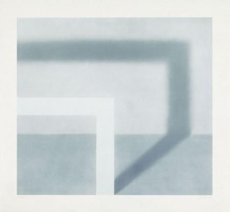 Gerhard Richter-Schattenbild I (Shadow Picture I); Schattenbild II (Shadow Picture II)-1968