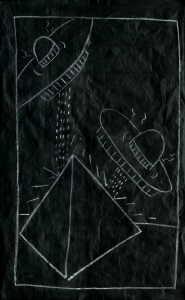 Keith Haring-Keith Haring - Subway Drawing-1980