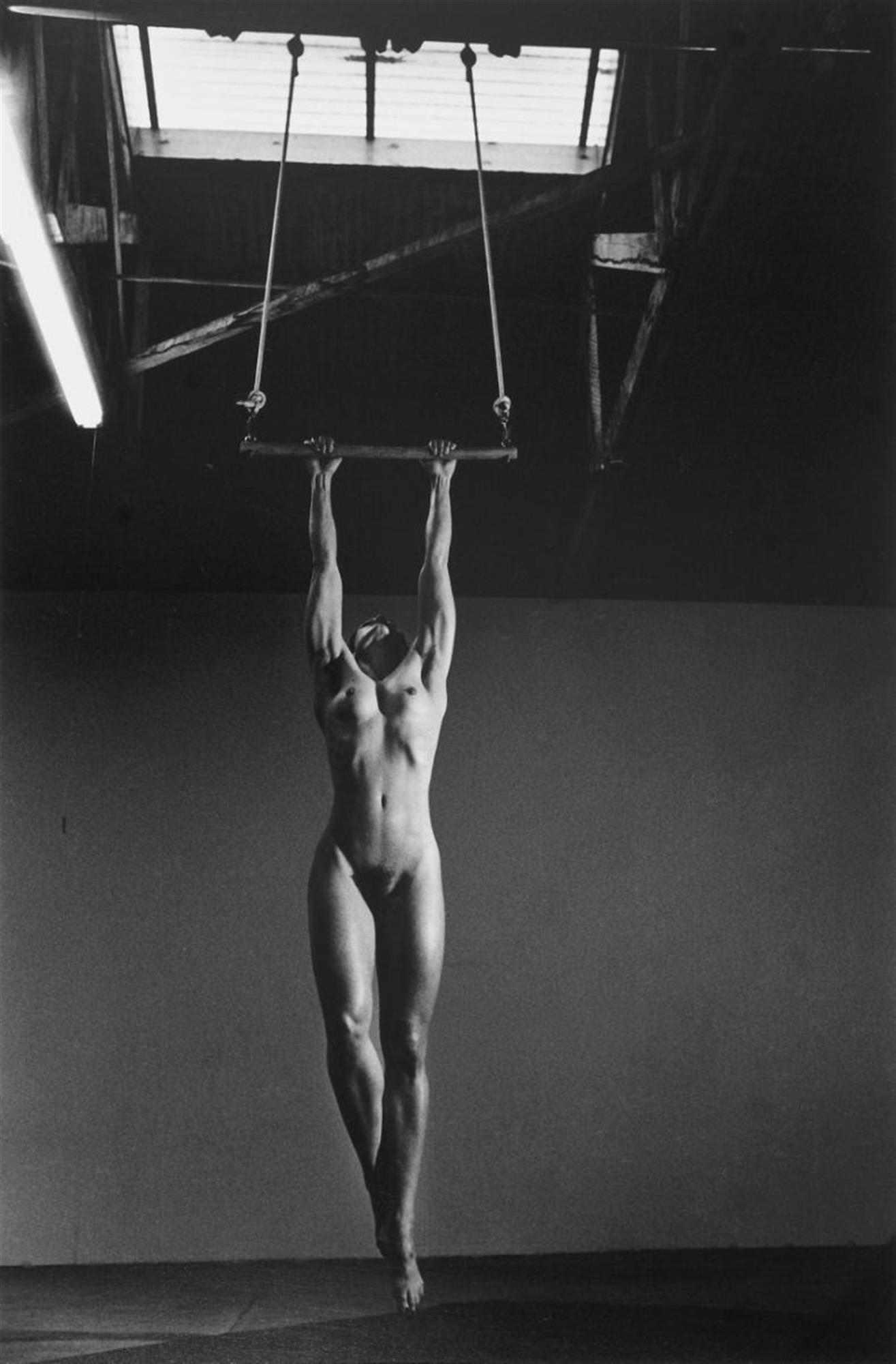 Helmut Newton-Lisa Lyon At Home, Venice, California-1981
