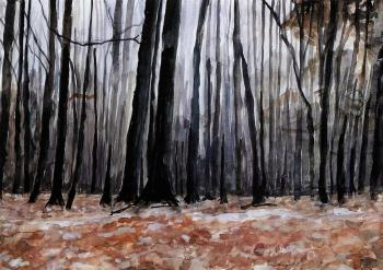 Anselm Kiefer-Wald (Forest)-1975