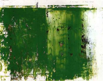 Gerhard Richter-Park (3.5.90)-1990
