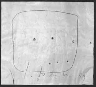 Lucio Fontana-Ohne Titel-1959