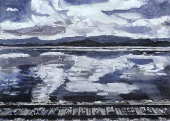 Anselm Kiefer-Norwegische Landschaft (Norwegian landscape)-1974