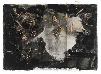 Anselm Kiefer-Dein Goldenes Haar, Margarete (Your Golden Hair, Margarete)-1981