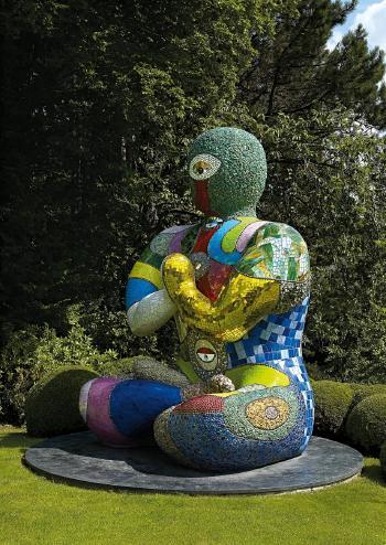 Niki de Saint Phalle-Buddah-2001