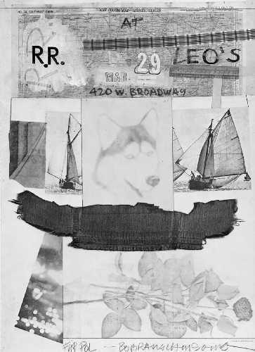 Robert Rauschenberg-Robert Rauschenberg - At Leo's-1980