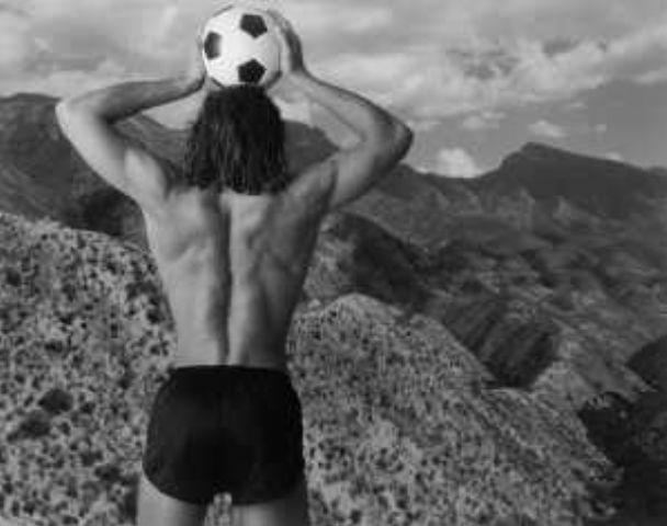 Annie Leibovitz-Soccer Ball Head-1985