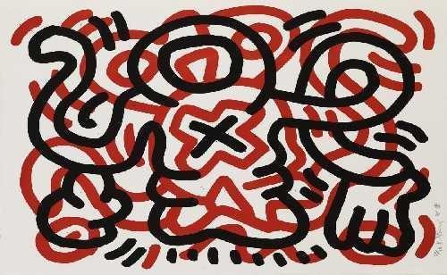 Keith Haring-Keith Haring - Ludo 3-1985