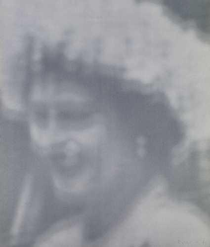 Gerhard Richter-Elisabeth I-1966
