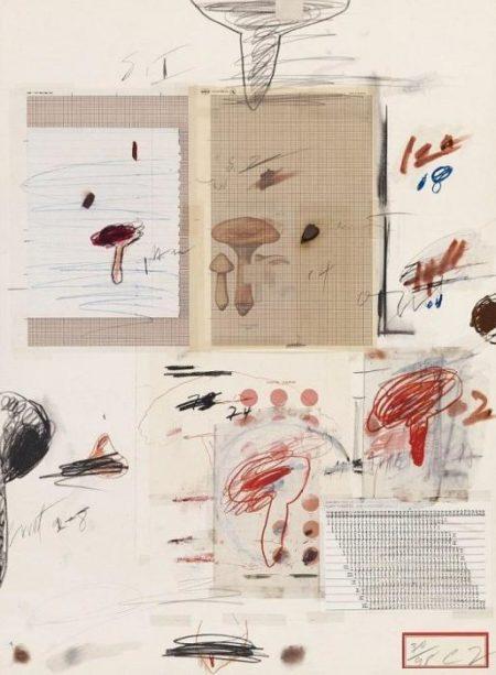 Cy Twombly-Natural History Part I (No.IV)-1974