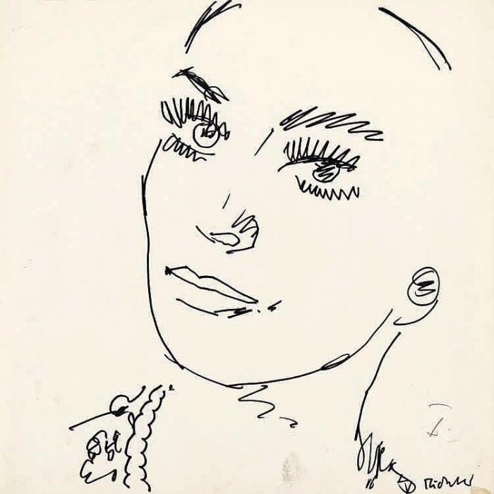 Gerhard Richter-Ohne Titel (Untitled)-1966