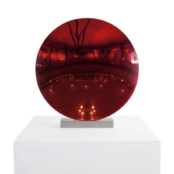 Anish Kapoor-Red Disc-2011