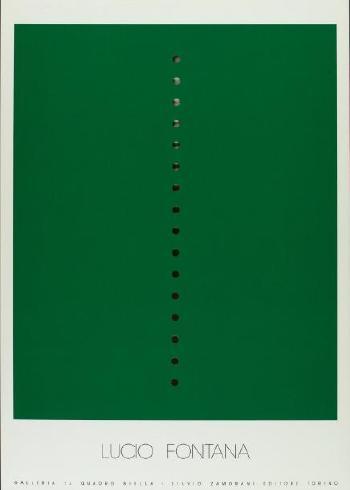 Lucio Fontana-Galleria Il Quadro Biella-