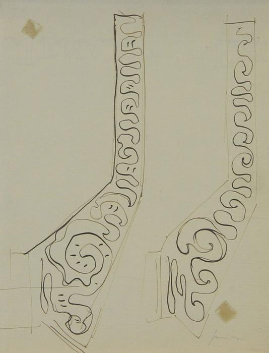 Lucio Fontana-Due Studi-1952