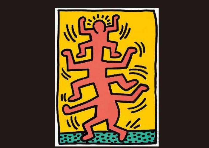 Keith Haring-Keith Haring - from GROWING-1988