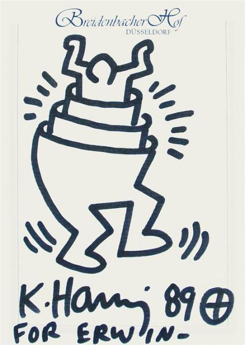 Keith Haring-Keith Haring - The man in the man-1989