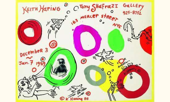 Keith Haring-Keith Haring - Tony Shafrai Gallery-1988