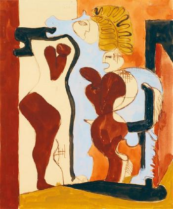 Le Corbusier-Personnages-1938
