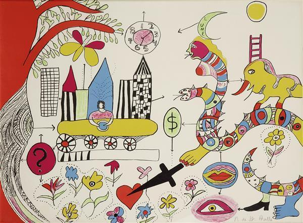 Niki de Saint Phalle-Le reve-1972