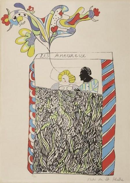 Niki de Saint Phalle-Les amoureux-