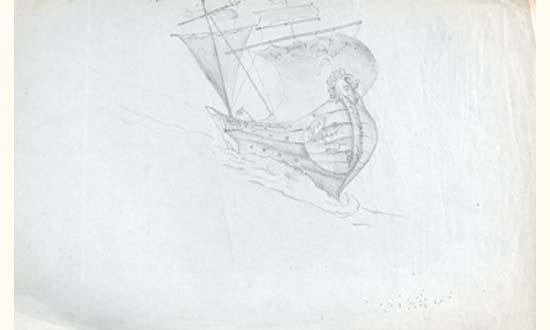 Leonora Carrington-The Flying Dutchman-1940