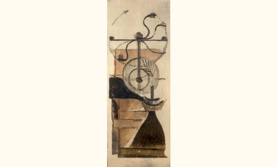 Marcel Duchamp-Moulin a cafe-1938