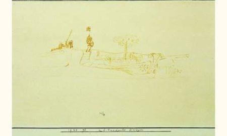 Paul Klee-Auf Tauchende Krieger (Guerriers En Train D'apparaitre)-1924