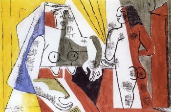 Le Corbusier-Les deux femmes-1940
