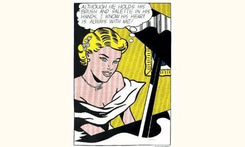 Roy Lichtenstein-Girl at Piano-