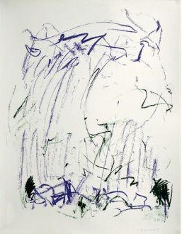 Joan Mitchell-Sides of a River III-1981