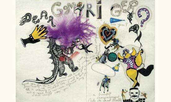 Niki de Saint Phalle-Nana et dragon, ( Dear Gomriger)-1985