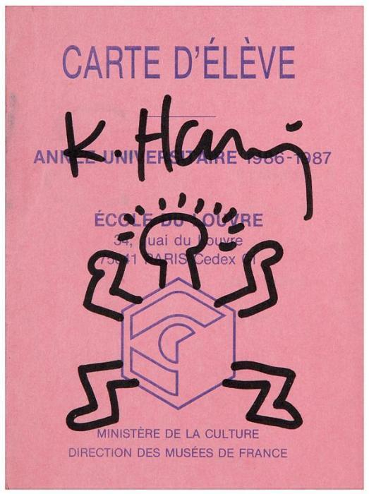 Keith Haring-Keith Haring - Sans titre-1986