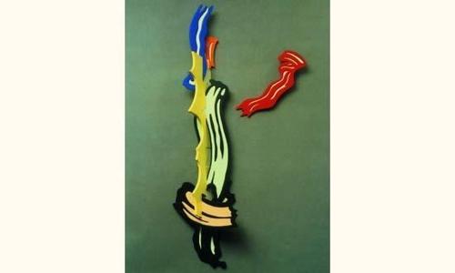 Roy Lichtenstein-Brushstroke II-1986