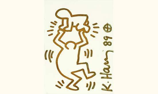 Keith Haring-Keith Haring - Fatherhood-1989